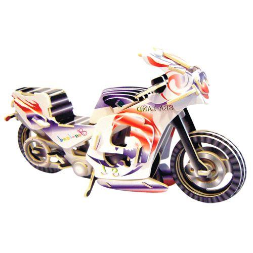 Woodcraft Závodní motorka PC023 cena od 69 Kč