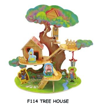 RoboTime Domeček na stromě se zvířátky cena od 118 Kč