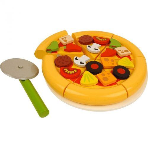Bigjigs Toys Dřevěná krájecí pizza cena od 379 Kč
