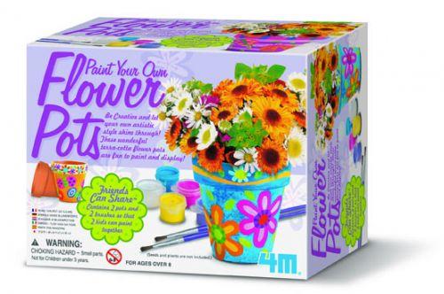 Playco Vymaluj si květináč