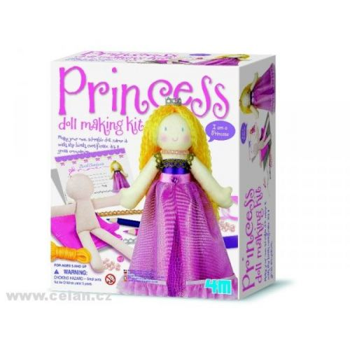 Playco Vyrob si panenku Princezna