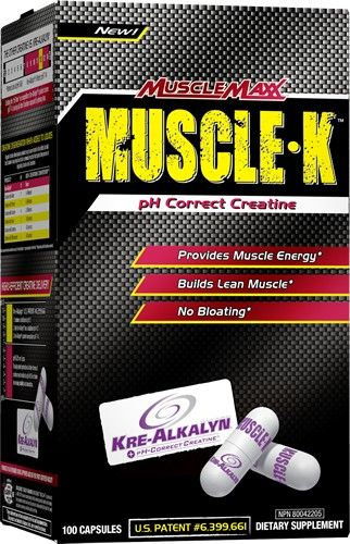 Allmax Muscle-K 100 kapslí