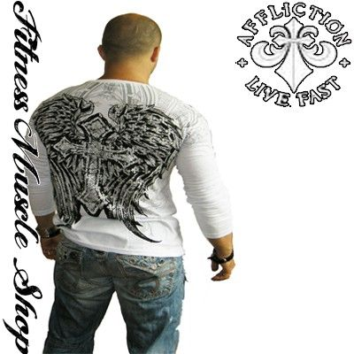 Affliction wings triko