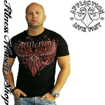 Affliction Randy Couture triko