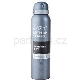 Dove Men +Care Invisble Dry deodorant antiperspirant ve spreji 48h (Anti-perspirant Deodorant) 150 ml cena od 55 Kč