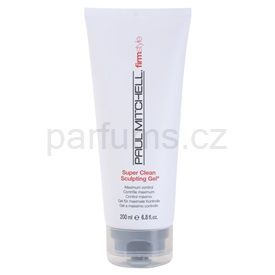 Paul Mitchell FirmStyle gel na vlasy pro definici a tvar Super Clean Sculpting Gel (Maximum Control) 200 ml