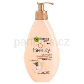 Garnier Oil Beauty vyživující olejové tělové mléko pro suchou pokožku (Oil-Infused Nourishing Lotion) 250 ml