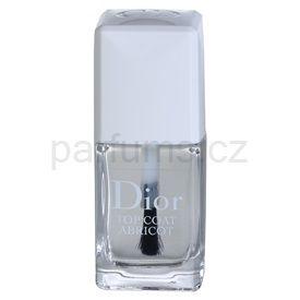 Dior Top Coat Abricot rychleschnoucí vrchní lak na nehty (Sets and Speed-dries Nail Enamel) 10 ml