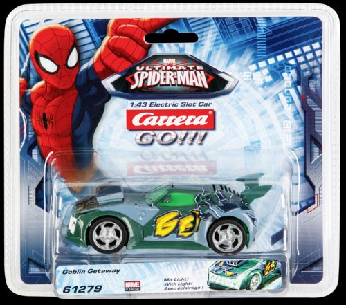 Carrera GO!!! Ultimate Spider-Ma Goblin Getaway 61279