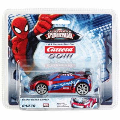 Carrera GO!!! Ultimate SpiderMan Spider Speed Shifter 61278