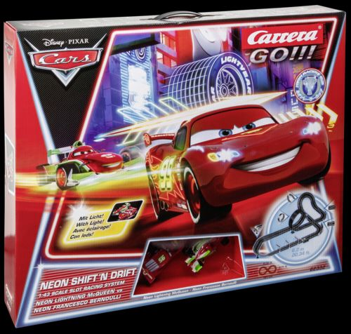 Carrera GO!!! Disney Pixar Neon Shift'n drift 62332 cena od 2199 Kč