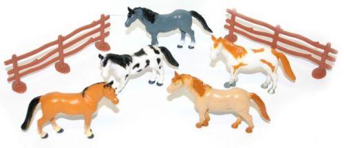 Rappa koně v sáčku 4 ks s ohradou cena od 83 Kč