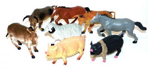 Rappa zvířata domácí 12-20 cm cena od 43 Kč