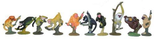 Rappa opice 10 ks