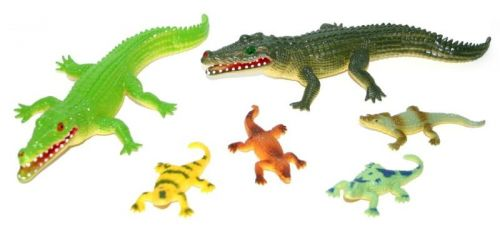 Rappa krokodýl v sáčku 5 ks cena od 64 Kč