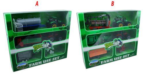 Rappa sada traktory s příslušenstvím 6 ks cena od 399 Kč