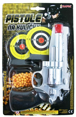 Rappa pistole na kuličky s terčem cena od 73 Kč