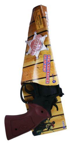 Rappa pistole šerif + hvězda cena od 39 Kč