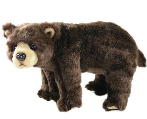 Rappa plyšový medvěd stojící 40 cm cena od 379 Kč