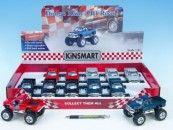 Mikro Trading Kinsmart Dodge Ram kov velká kola 13 cm cena od 131 Kč