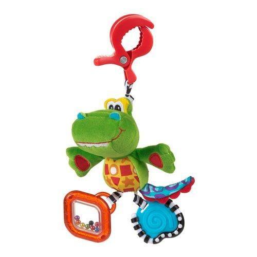 Playgro Závěsný krokodýl s klipem cena od 174 Kč