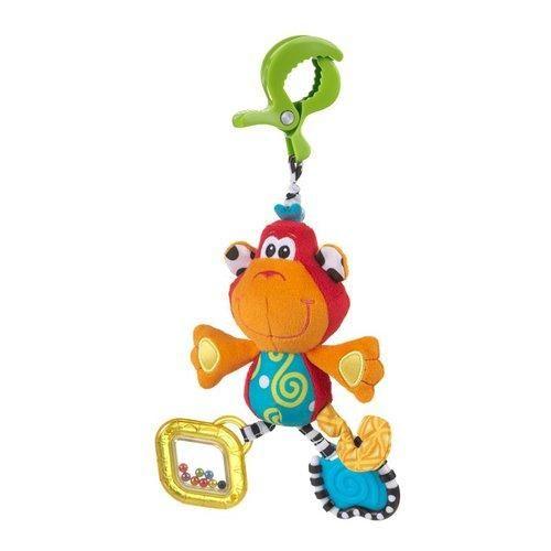 Playgro Závěsná opička s klipem cena od 175 Kč