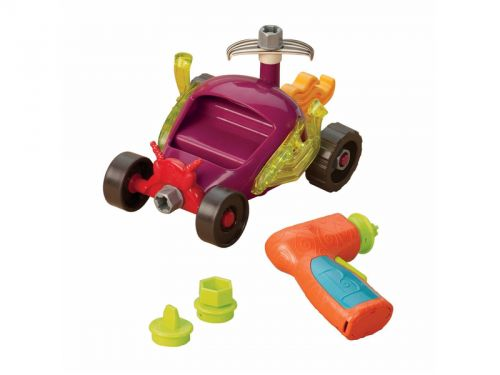 B-toys Stavebnice závodní auto