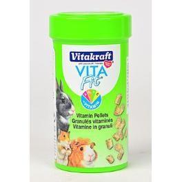 Vitakraft Vita Fit Guinea pig pochoutka vitamínová peletky 80 g