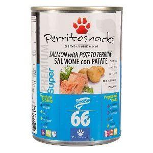 Perrito konzerva Salmon Potato & Herbs 400 g