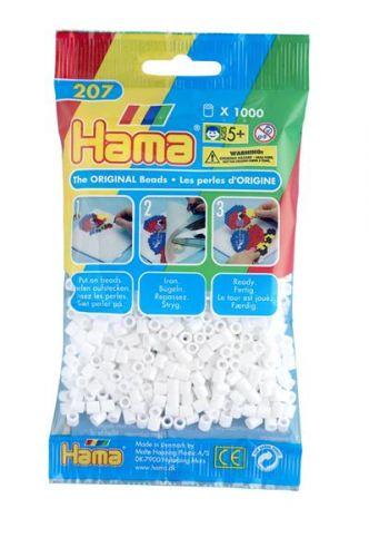 HAMA Bílé korálky cena od 49 Kč