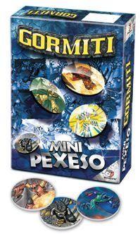 Pexeso Mini - Gormiti cena od 61 Kč