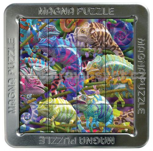 Piatnik: 16 d. 3D Magnetické puzzle Chameleon cena od 197 Kč