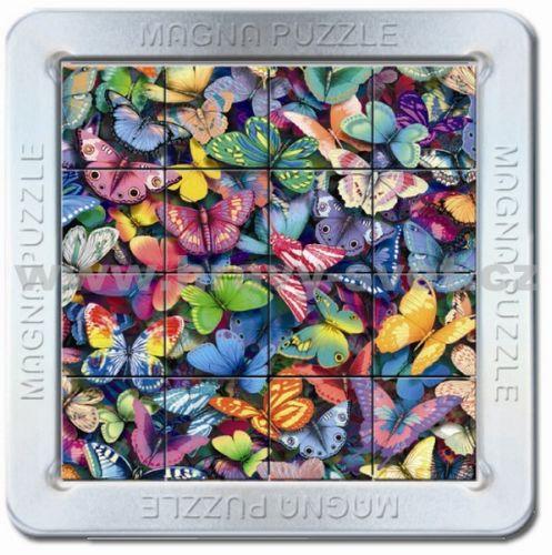 Piatnik: 16 d. 3D Magnetické puzzle Motýli cena od 85 Kč