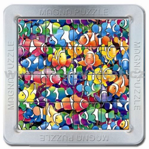 Piatnik: 16 d. 3D Magnetické puzzle Rybičky