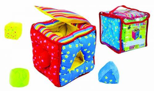 Rappa vkládačka kostka baby látková cena od 259 Kč