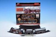 Mikro hračky Vlak s kolejemi se světlem se zvukem v krabičce cena od 129 Kč
