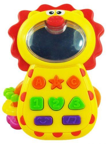 Baby Mix hračka se zvukem Lvíček