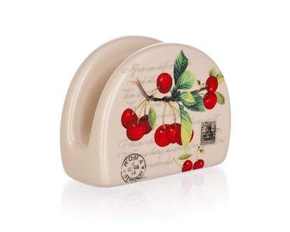 BANQUET Stojánek na ubrousky Cherry cena od 65 Kč