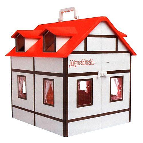 Monchhichi plastový domeček