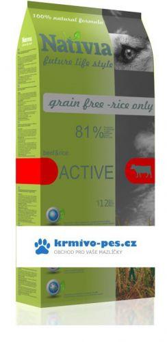 Nativia Dog Active 15 kg