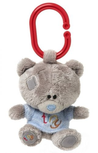 Me to you Tiny Tatty Teddy Medvídek pískátko v modrém tričku 10 cm cena od 212 Kč
