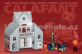 Calafant Kartonový model Domek pro panenky