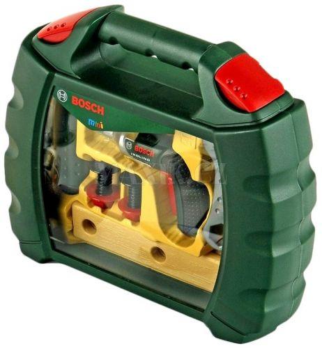 Klein Pracovní kufřík Bosch s nářadím a aku-šroubovákem cena od 275 Kč