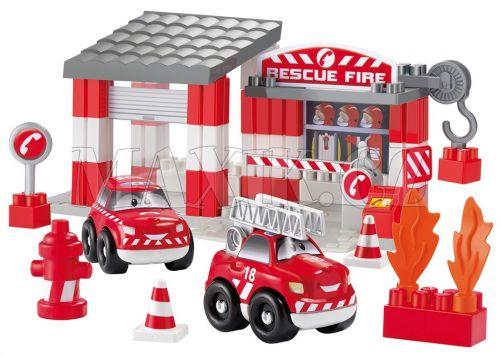 Abrick Požární stanice 59 dílků