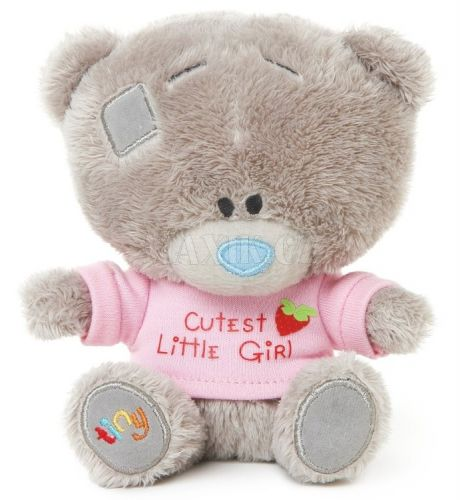 Me to you Tiny Tatty Teddy Medvídek v růžovém tričku 11,5 cm cena od 149 Kč