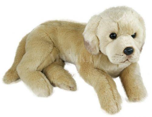 Rappa plyšový pes labrador 45 cm cena od 409 Kč