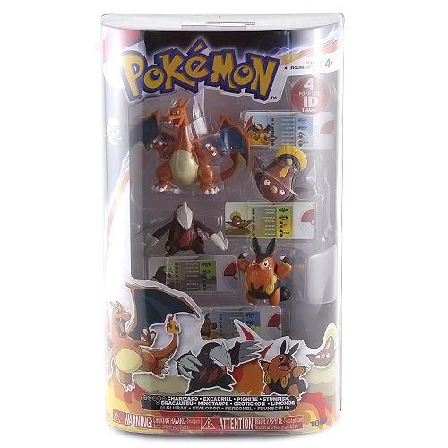 TOMY Company, Ltd.: Pokémon: set velký 4 figurky (1/4) cena od 0 Kč