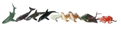 Rappa zvířata mořská v sáčku 9 kusů cena od 58 Kč
