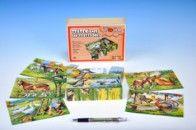 TOPA kubus Zvířátka Statek dřevo 12 ks cena od 188 Kč
