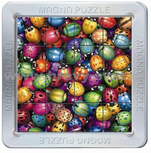 Piatnik: 16 d. 3D Magnetické puzzle Berušky